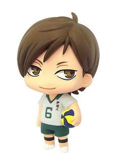 Color Colle Haikyuu!! Vol.3 Mascot Figure Kenji Futakuchi Movic Toho Licensed New
