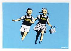 Banksy - Jack & Jill