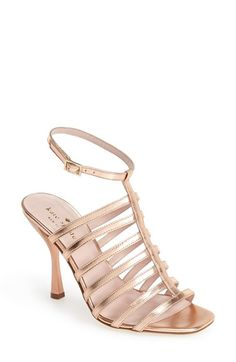 kate spade new york 'delila' cage sandal (Women) available at #Nordstrom