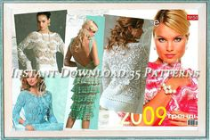 35 Crochet Patterns. Ebook. Instant by YourCreativeCrochet on Etsy, $3.00