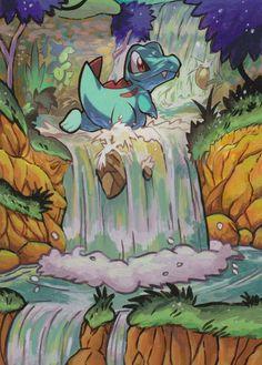 Totodile 18/73 Shining Legends Extended Art Custom Pokemon Card