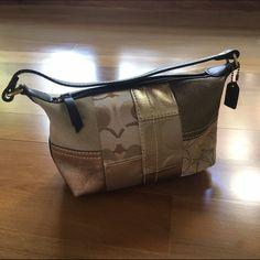 "Authentic Coach handbag barely used, 8""(L) x 3.5""(W) x 5""(H) Coach Bags Mini Bags"