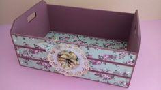 Caixote decorado