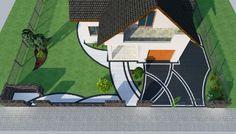 Apartment Patio Plants outdoor patio home. Pergola Patio, Pergola Canopy, Gazebo, Backyard, Patio Privacy, Patio Dining, Wood Patio, Concrete Patio, Patio Table