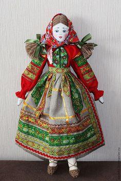 Кукла в русском народном костюме лн