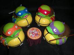 Ninja Turtles Ducks by ~Oriana-X-Myst on deviantART | TMNT Teenage Mutant Ninja Turtles Rubber Duck Mod