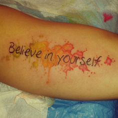believe Fish Tattoos, Tattoo Quotes, Believe, Literary Tattoos, Quote Tattoos, Inspiration Tattoos