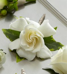 The FTD® Gardenia Boutonniere http://www.lowellfloral.com/product/the-ftd-gardenia-boutonniere/display