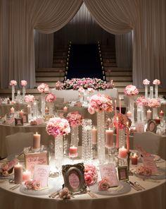 バンケット | 京王プラザホテル札幌ウェディング Chanel Party, Themed Weddings, Big Girl Fashion, Bridal Flowers, Banquet, Wedding Stuff, Wedding Planning, Presentation, Table Decorations