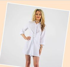 Smart Casual Shirts, Pink Cadillac, Fashion Boutique, Work Wear, Button Up, Blouses, Shirt Dress, How To Wear, Collection