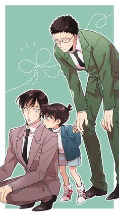 Embedded Conan Comics, Detektif Conan, Happy Tree Friends, Funny Hamsters, Detective Conan Wallpapers, Gosho Aoyama, Kaito Kid, Kudo Shinichi, Anime Family