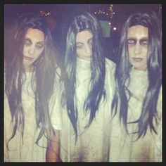 Halloween for Social Diary Make up by Veronica Ostro Pop Up Powder Room @popuppow #popuppow