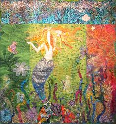Debra Harry Art Quilt Oce-Anna's Garden