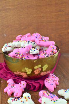 Homemade Circus Animal Cookies for National Animal Cracker Day!