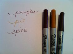 Pumpkin Pie Spice Thanksgiving Fall Harvest Colors by BeckyCharms, $8.00