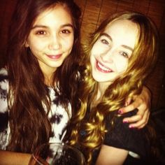Rawan Blanchard:Riley Mathews and Sabrina Carpenter:Maya Hunter