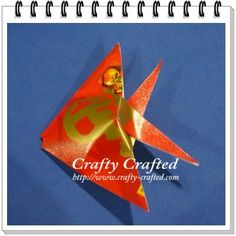 Red packet fish ornament
