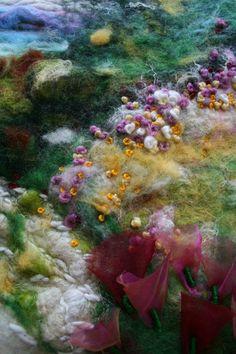 Becky williams Felt artist - Google Search Felt Pictures, Google Search, Board, Artist, Painting, Artists, Painting Art, Paintings, Painted Canvas