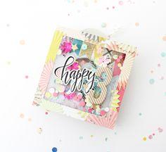 Scrap Sweet Scrap: Konfetti Minialbum