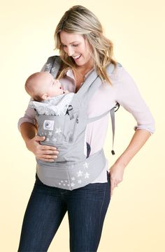 Baby Essentials: ergonomically designed baby carrier can be worn in front, back or hip position. #Nordstrom