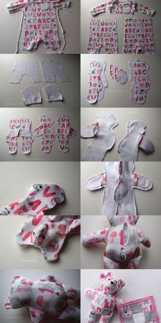 incredible sewing craft ideas for the home incredible sewing craft idea… - Stofftiere Memory Crafts, Baby Crafts, Home Crafts, Baby Sewing Projects, Sewing Hacks, Baby Clothes Patterns, Sewing Patterns, Sewing Toys, Sewing Crafts