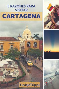 #Cartagena conocida como #CartagenadeIndias en #Colombia #Caribe Qué hacer en esta mágica ciudad #atardecer #CiudadAmurallada Latin Travel, Solo Travel, Countries To Visit, Places To Visit, South America Travel, Koh Tao, Beautiful Places In The World, Never Stop Exploring, Central America