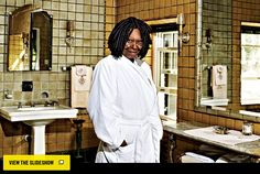 Whoopi Goldberg's Eight-Bedroom Home in New Jersey - Home Design Spring 2012 -- New York Magazine