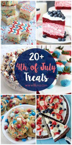 20 4th of July DessertsReally nice recipes. Every hour.Show me  Mein Blog: Alles rund um Genuss & Geschmack  Kochen Backen Braten Vorspeisen Mains & Desserts!