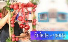 O mês de dezembro é sempre agitado e a Denise trouxe mais uma dica para deixar sua noite de natal ainda mais bonita. Como? Reaproveitando e reciclando uma moldura antiga e criando um belo enfeito para pendurar em sua porta. ...