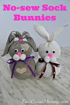 easter crafts for adults * easter crafts . easter crafts for kids . easter crafts for toddlers . easter crafts for adults . easter crafts for kids christian . easter crafts for kids toddlers . easter crafts to sell Sock Crafts, Bunny Crafts, Easy Crafts, Diy And Crafts, Crafts With Socks, Sock Snowman Craft, Snowman Crafts, Homemade Crafts, Recycled Crafts