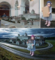 John Wilhelm's fun and creative family portraits with Photoshop (IX)