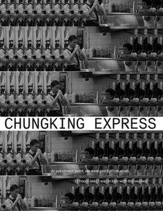 Chunking Express // Directed by: Wong Kar-wai Cinematography: Christopher Doyle & Lau Wai-Keung (Andrew Lau)