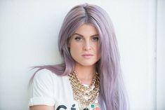 kelly osbourne lavender lilac hair