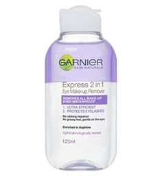Garnier Express 2In1 Eye Make Up Remover 125Ml ** Want additional info? Click on the image.