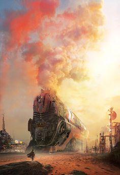 Stephan Martiniere / steampunktendencies