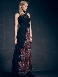 Erin by Erin Fetherston Isabelle Romanian Gown at Free People Clothing Boutique