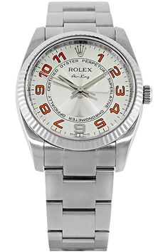 Certified Pre-Owned #Rolex Air-King Stainless Steel Automatic #watch #watches #vintage #retro #fashion