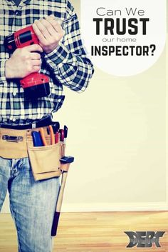 Can We Trust Our Home Inspectors? After buying two homes, it's become apparent that I have to double check the inspector's inspections. Here's why I think inspectors might be overrated! Ways To Save Money, Money Tips, How To Make Money, Moving Tips, Home Inspection, For Sale Sign, Home Hacks, Home Buying, Saving Money
