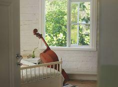 With a cello