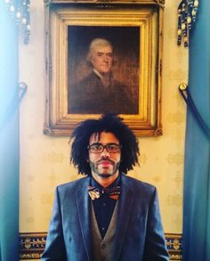 Daveed Diggs with Jefferson: *HEART EYES FOR DAYS*