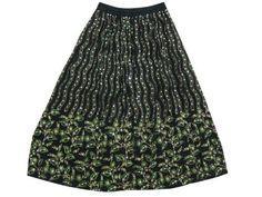 "Black Peasant Skirt Green Leaf Printed Sequin Skirt for Women 36"" Mogul Interior, http://www.amazon.com/dp/B009QVEV40/ref=cm_sw_r_pi_dp_ia3Fqb01Y4EGR"