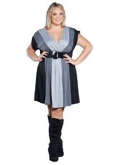 Sealed With A Kiss Designs Plus Size Connie Sweater Dress $49.99