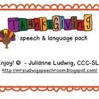 Thanksgiving (pronouns, prepositions, and more)  Great stuff and FREE!
