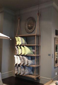 Rope shelves...