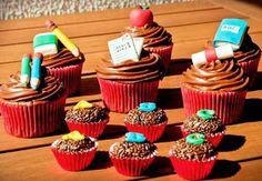Cupcakes Festa na Escola