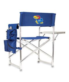 Take a look at this Kansas Sports Chair by Tailgate Essentials Collection on #zulily today!