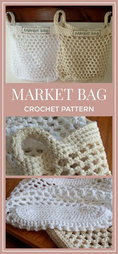 Replace the plastic grocery bags provided at the super market. Crochet Pattern for LARGE Market Bag, Crochet Pattern, PDF Instant Download, Mesh Bag #crochet #crochetpattern #marketbag #affiliate #tote #crochetlove