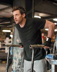 How to be buff with Hugh Jackman.
