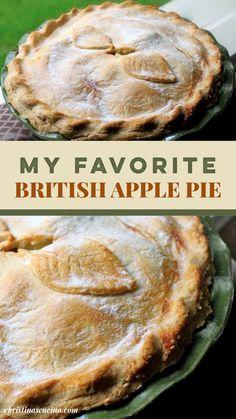 Apple Pie Recipes, Tart Recipes, Baking Recipes, Apple Pie Recipe Easy, Easy Gluten Free Desserts, Easy Desserts, Delicious Desserts, British Baking Show Recipes, Scottish Recipes