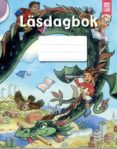 Läsdagboken — Bonnierförlagen Lära Stencil, Comic Books, Comics, Movie Posters, Art, Art Background, Film Poster, Stenciled Table, Kunst
